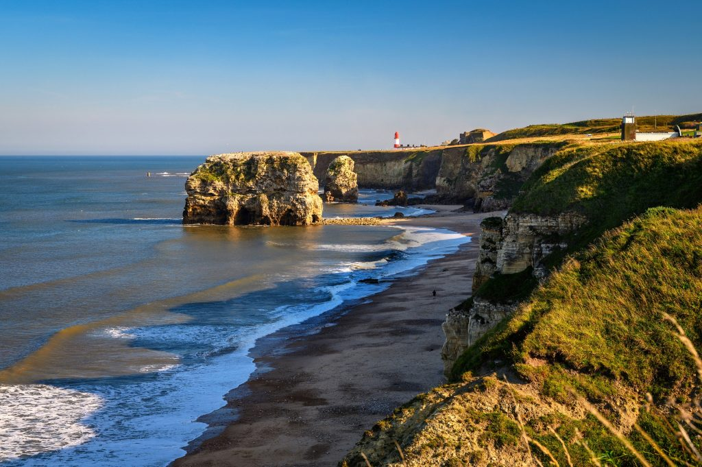 Beautiful north east coastline representing SeaScapes project